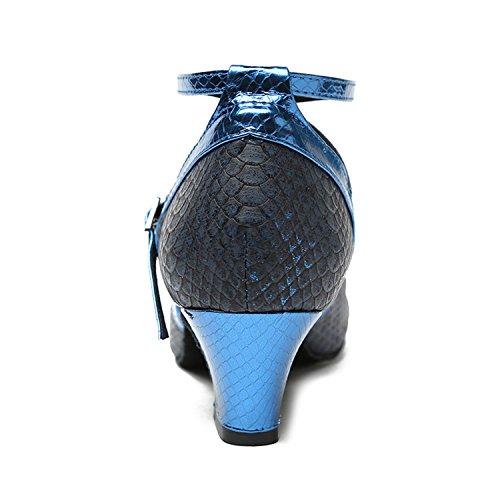 Salle Miyoopark bal de Blue femme Heel 4cm d0vxgxwqf