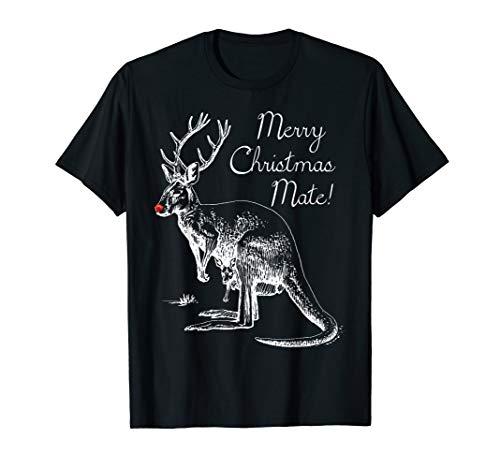 Australia Christmas Shirt - Merry Christmas Mate T-Shirt (Australia Christmas Shop)