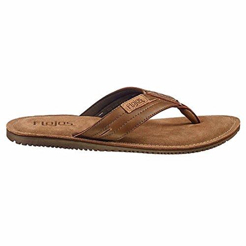 6155d7cb7fbd6b Flojos Alonzo Men s Comfort Flip Flops Sandals Shoes