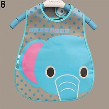 Amazon.com: AA elefante dibujos animados bebé Boy Girl niños ...