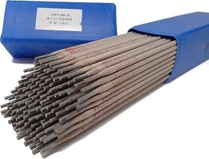 Sudor electrodos VA E308 3,2 mm 5 kg Acero Inoxidable ...