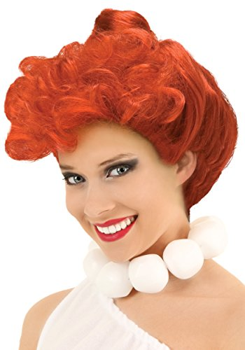 LF Products Pte. Ltd. Fun Costumes Womens Deluxe Wilma Flintstone Wig -