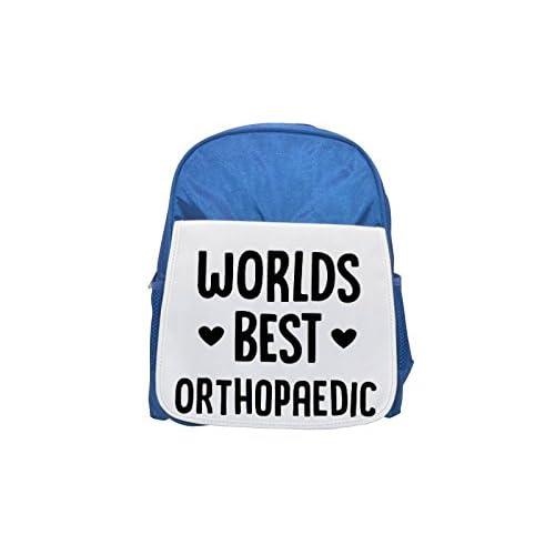 Mundial de mejor ortopédico impreso Kid 's azul mochila, para mochilas, cute small Mochilas, cute negro mochila, Cool mochila negra, moda mochilas, Gran moda mochilas, negro moda mochila