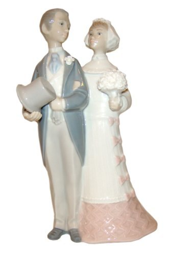 Lladro Porcelain Figurine from Spain WEDDING #4808 Mint Condition-Retired by Lladro