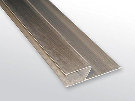 250 cm lang Kurt Neidull Alu Kart/äsche H-Form