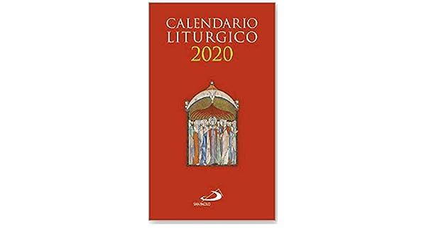 Calendario Religioso 2020.Calendario Liturgico 2020 Amazon Com Au Books