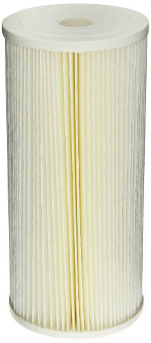 Pentek ECP5-BB Pleated Cellulose Polyester Filter Cartridge, 9-3/4
