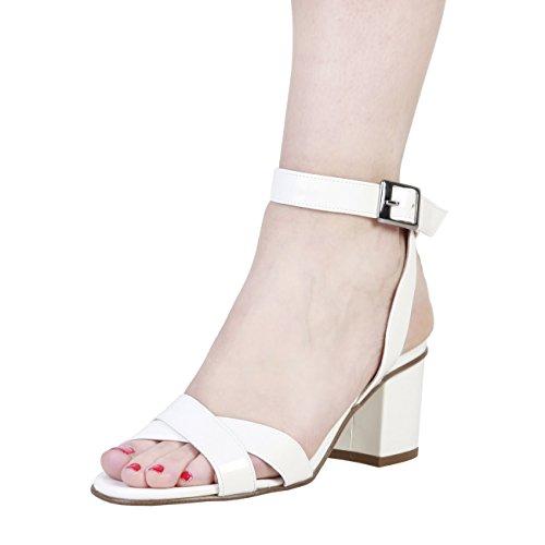 PIERRE CARDIN CW-2009 Sandalias De Vestir Para Mujer Con Correa De Tobillo Ajustable Tacón: 7 cm