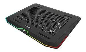 Deep Cool DP-N222-N80RGB Dizüstü Bilgisayar Soğutma Cihazı, N80 RGB 2 adet 140x20mm Fan değiştirile bilir Led ışıklı 2 X USB 3.0 Port Notebook Stand ve Soğutucu