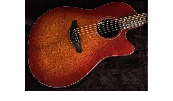 Ovation American SX Series 6 cuerdas de guitarra acústica eléctrica, derecha, quemador de cascada, cuerpo de contorno profundo (ASXSTRMSD-MB): Amazon.es: ...