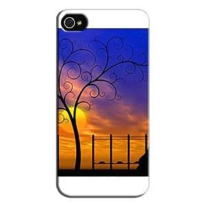 Slim Fit Design For Iphone 5 Protective Hard Case White KjZQOzhE6RVK