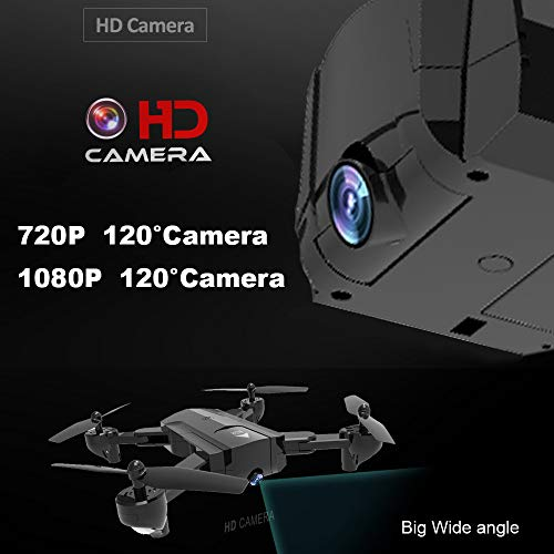 Lovewe SG900 RC Foldable Quadcopter 2.4GHz WIFI FPV GPS Fixed Point Drone for Kids and Beginners With 720P/1080P HD Camera, One Key Return (1080P) by Lovewe_Drone (Image #3)