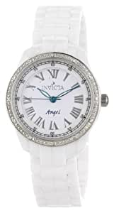 Invicta Women's 0726 Angel Collection Diamond Accented Ceramic Watch