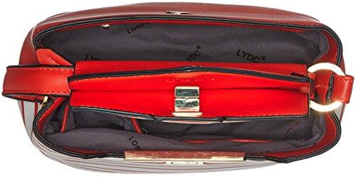 à x main H sac x femme T 12x19x25 Lydc B London cm Amber atOP4