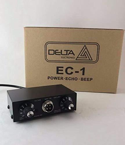 Delta EC1 Dynamic MIC Amplifier/Echo Chamber w/Roger BEEP 4 pin Cobra CB HAM by Delta EC1