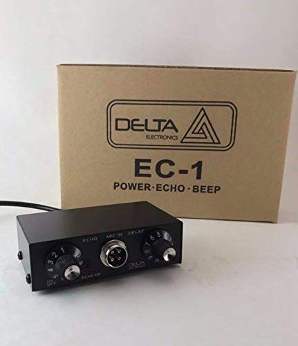 DELTA EC1 Dynamic MIC Amplifier/Echo Chamber w/Roger BEEP 4 pin Cobra CB HAM