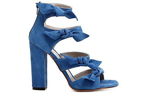 In Chiuso Kna511010360 010 Sandalo Con Nero Nodi Quattro Camoscio Dietro 36 Cafènoir AOwTxHf