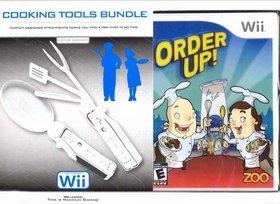INTEC COOKING TOOLS BUNDLE W/ORDER UP GAME-WII