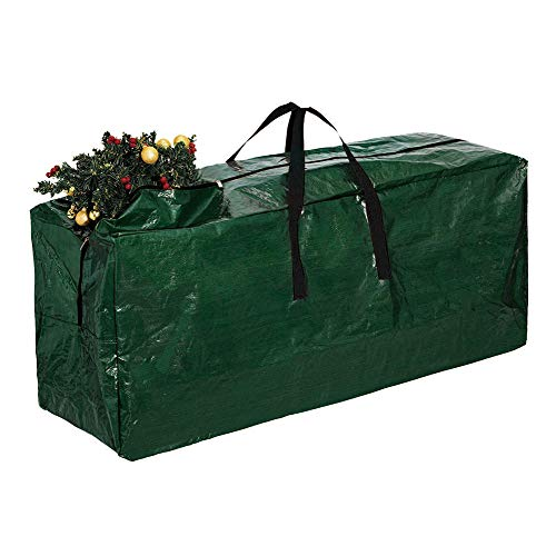 Artificial Christmas Tree Storage Bag, 9ft Christmas Tree Large Heavy Duty Containers Organizers, Waterproof Dural Christmas Tree Storage Bag With Handle, Dustproof, Anti-Moisture & Insect (Tree Christmas Patio Furniture)