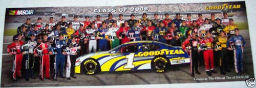 Goodyear Nascar 2006 Poster Original Limited Edition Rare