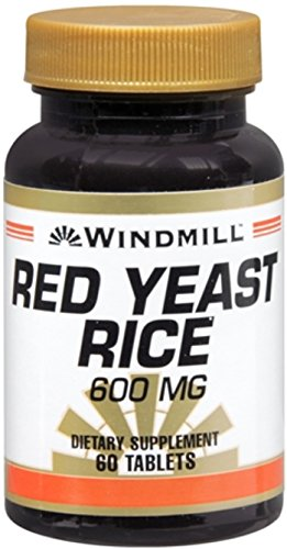 Windmill Red Yeast Rice 600 mg 60 Tablets - 1