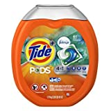 Tide PODS 4 in 1 HE Turbo Laundry Detergent Pacs, Botanical Rain Scent, 61 Count Tub - Pack of 6