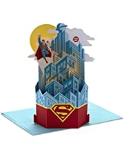 Hallmark Paper Wonder Superman Pop Up Birthday Card with Music (Plays Superman Theme) (999RKW1084)