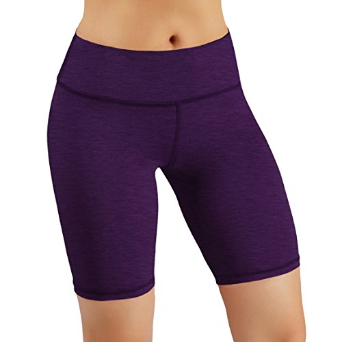 Eighties Workout Fashion - ODODOS Power Flex Yoga Short Tummy