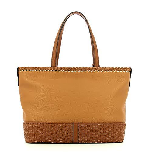 Mimosa Trussardi Cm Leather Donna 17x46x42 Jeans Tote Borsa r5AwrqH