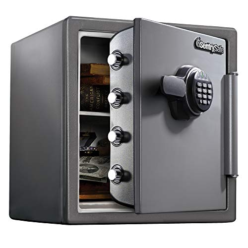 SentrySafe SF123ES Fireproof Safe with Digital Keypad 1.23 Cubic Feet (Electronic Safe Magnet)