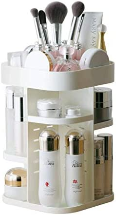 SMEJS Cosmetic Storage Organizer - Organisieren Sie Ihre Kosmetik, Schmuck und Haarschmuck, Badezimmertheke oder Kommode, klares Design für einfache Sichtbarkeit