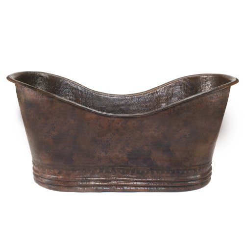 Premier Copper Products Btd67db 67 Inch Hammered Copper