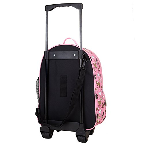 Horses in Pink Rolling Luggage