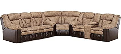 Marvelous Lane Talon Sectional With Wedge, Double Reclining Sofa And Double Reclining  Loveseat With Storage.