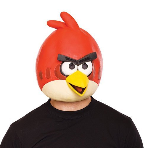 Paper Magic Angry Birds Mask, Red, One Size -