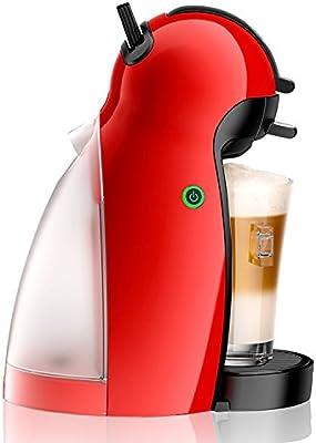Krups Dolce Gusto Piccolo KP1006 - Cafetera de capsulas, 15 bares de presion, color rojo (Reacondicionado): Amazon ...