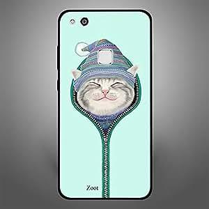 Huawei P10 Lite Cat Zipped