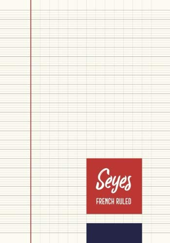 Seyes French Ruled Notebook - Journal - A5 - Creme Paper: To Write In - 8mm Lining Handwriting Paper |110 Pages | Perfect Binding | Durable Softcover (Creme Paper)