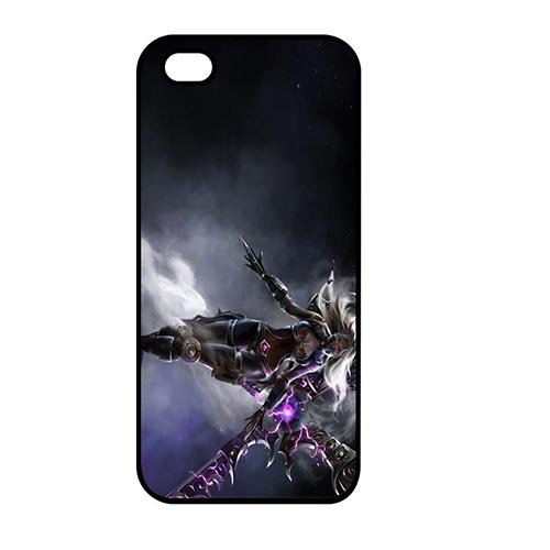 Coque,League Of Legends Pattern for Coque iphone SE/Coque iphone 5/Coque iphone 5S Hard Phone Cover Case Covers