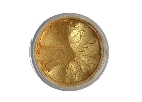 SUPER GOLD Luster Dust (4 grams each container) Gold luster dust, by Oh! Sweet Art Corp