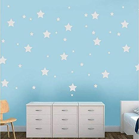 Pegatina De Pared Habitación Infantilset 150 Ud Estrellas Adhesivas Vinilos Decorativos De Estrellas Vinilo Para Decorar Habitaciones Pegatinas