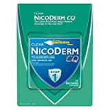 NicoDerm CQ 21mg Step 1 Clear Nicotine Patches, 21 ct. x2 AS