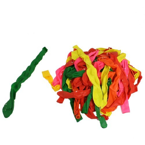 Fte d'anniversaire de Mariage Dcoration Ballons en Latex 96 Pcs Multicolore