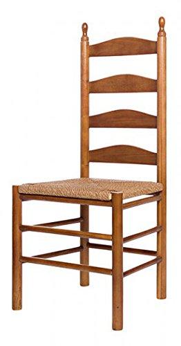 Maiden Ladderback Chair In Medium Oak Finish 748117