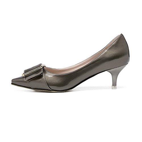 Stylet Unie Pointu 5cm Couleur Argent Chaussures Femme Tire Aalardom Légeres FwS1q1