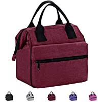 Lunch Box Insulated Lunch Bag For Men &Women Meal Prep Lunch Tote Boxes For Kids & Adults(Wine Red)