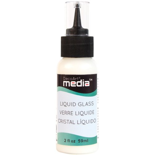 Deco Art Media Liquid Glass, 2-Ounce, Clear