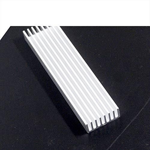 10pcs 1003510mm Heatsink Cooler Cooling Fin Aluminum Radiator Heat Sink for LED Power IC Transistor Module PBC 100x35x10mm