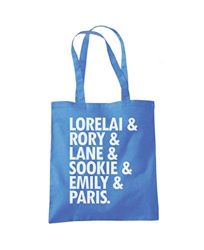 Fashion Lane Lorelai Lorelai Shopper Tote Rory Bag Rory Blue Cornflower q4v4YO