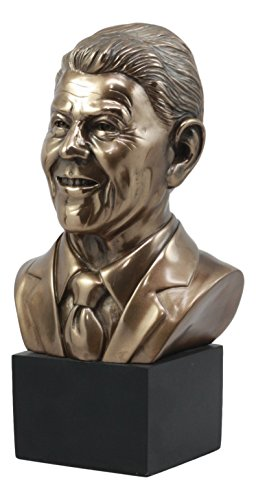 - Ebros US President Ronald Reagan Bust Statue 9.25
